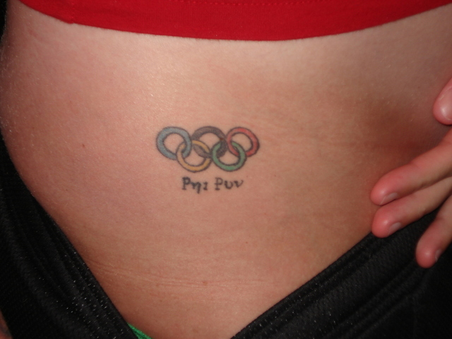 Australian athletes who celebrate Olympic glory by getting a tattoo in