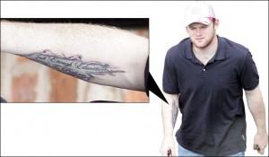 Wayne Rooney Tattoo