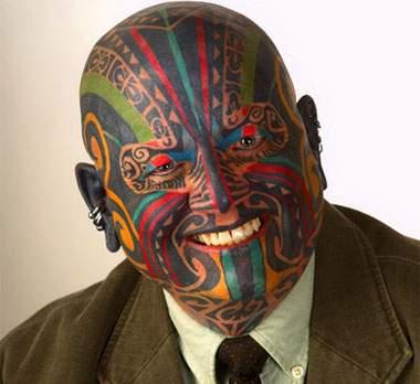"""tattoos on head. """"Hooked: Tattoos Head to"""
