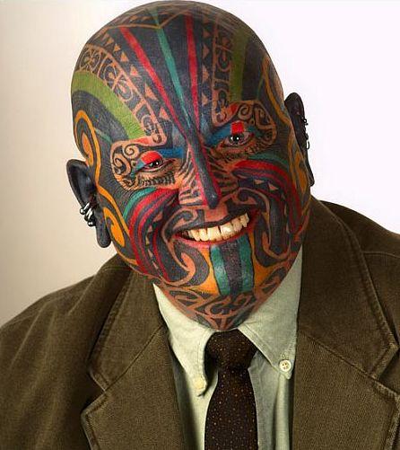 TABOO: LAW ENFORCEMENT TATTOO (ONE/MILLION) Tags: people public look tattoo