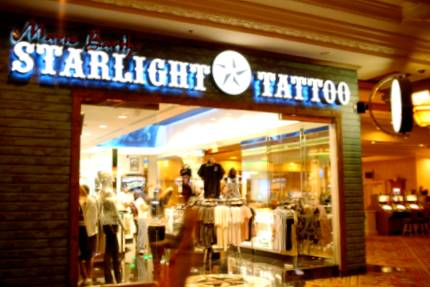 Tattoos Parlors at the Mall