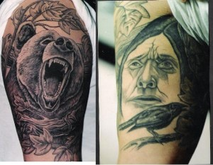 bear tattoo picture