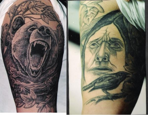Tattoo Blog » Uncategorized » bear tattoo picture