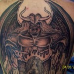 demon tattoo picture