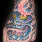 hannya tattoo picture by T Massari