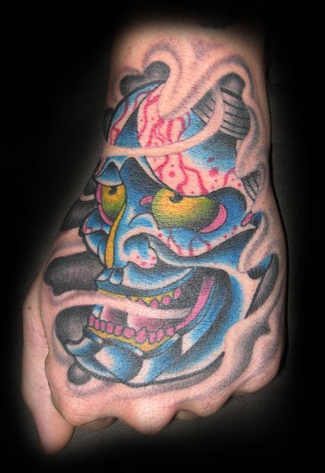 hannya tattoo picture by T