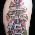 in loving memory tattoo picture by T Massari