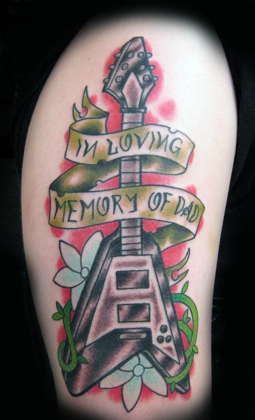 Tattoo Blog » Uncategorized » in loving memory tattoo picture by T Massari