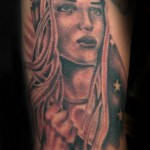 girl tattoo picture by T Massari