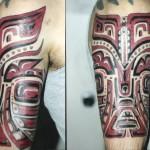 symmetric design tattoo picture