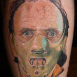 Hannibal Lecter Tattoo by Carter Moore
