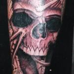 skull tattoo picture