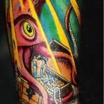 squid tattoo picture