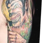 werewolf tattoo picture