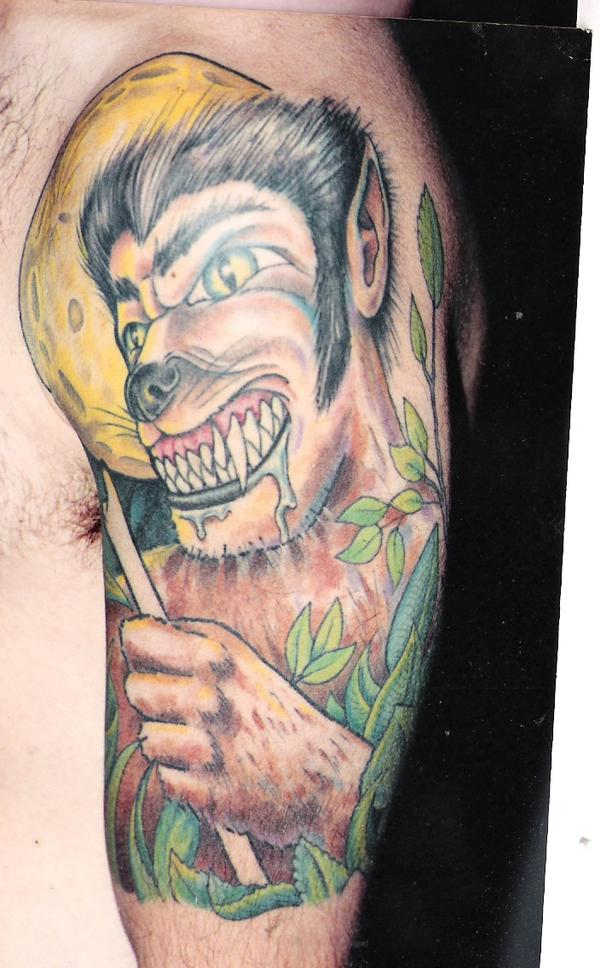 Tattoo Blog » Uncategorized » werewolf tattoo picture
