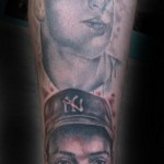 yankees tattoo picture by T Massari