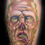 zombie tattoo picture by T Massari