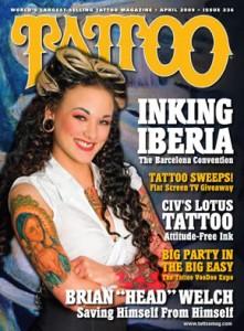 April 2009 Tattoo Magazine