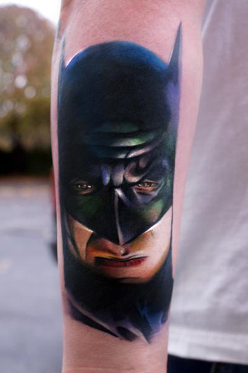Batman The Great American Tattoo Co. Indianapolis, Indiana US