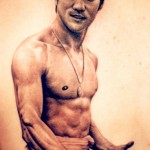 Tom Rensahw bruce lee tattoo