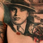 capone tattoo picture