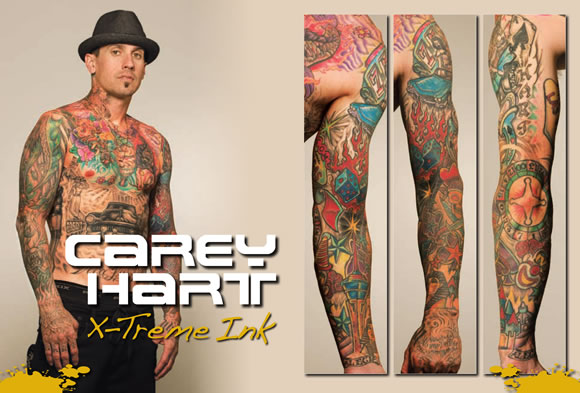 Tattoo Blog » Uncategorized » carey hart tattoos