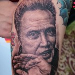 christopher walken tattoo