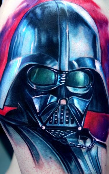 Tattoo Blog » Uncategorized » darth vader tattoo