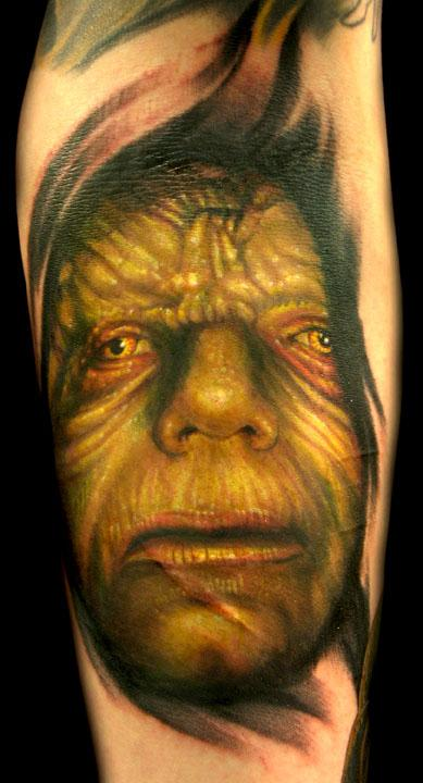 Tattoo Blog » Uncategorized » emperor star wars tattoo