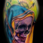 grimreaper tattoo