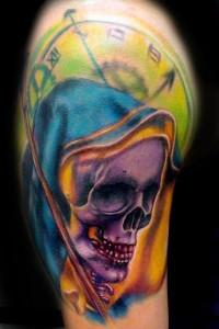 grimreaper tattoo