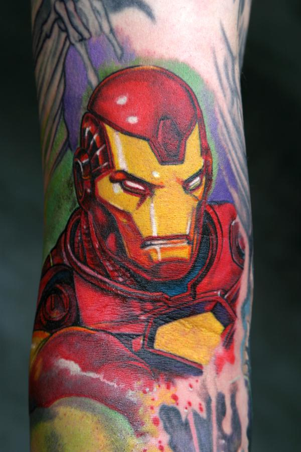 Tattoo Blog » Uncategorized » iron man tattoo
