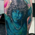 jim morrison lizard king tattoo