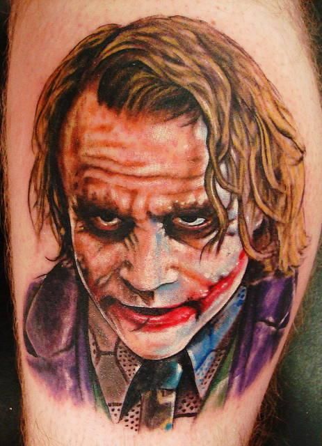 Tattoo Blog » Uncategorized » joker tattoo