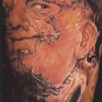 leather face tattoo