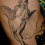 Tim Hendricks marilyn monroe tattoo