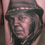 neil young tattoo