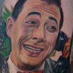 pee wee herman tattoo