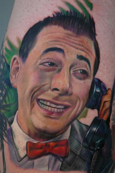 Nikko Hurtado Pee Wee Herman Ignition Tattoo APPLE VALLEY , CA US