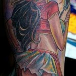 Joe Capobianco pinup girl tattoo picture