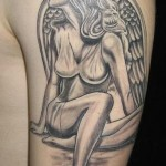 Paris Pierides pinup angel