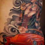 Joe Capobianco pinup car