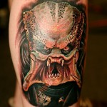 predator tattoo