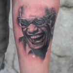 ray charles tattoo