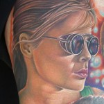 sarah connor tattoo