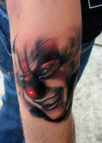 Clown Tattoo Pictures