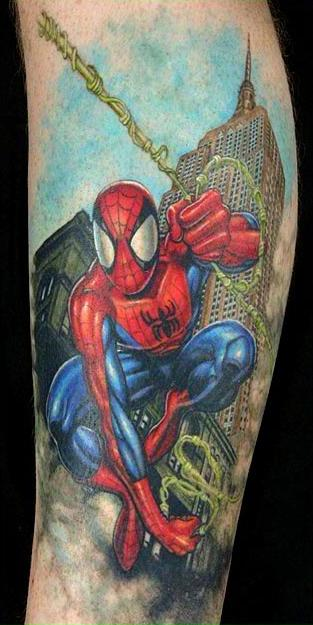 Tattoo Blog » Uncategorized » spiderman tattoo