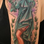 statue of liberty pinup tattoo picture