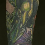 the hulk tattoo
