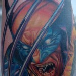 wolverine tatto